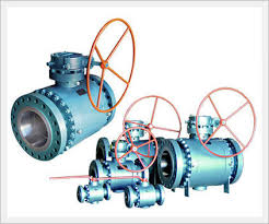 JMC Trunnion Ball Valves