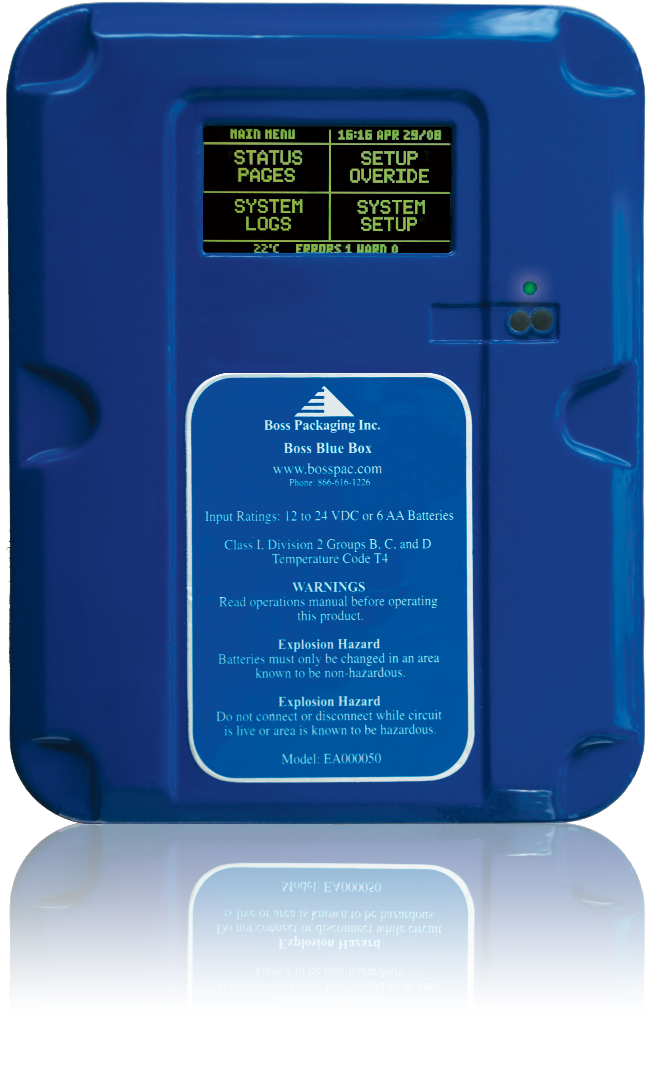 BossPac™ BlueBox Controller