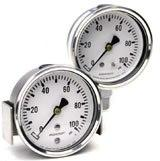 Gauge-Stainless Steel Type 1008S 63 & 100mm