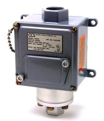 Pressure Switch Series 604G, 604P, 604V